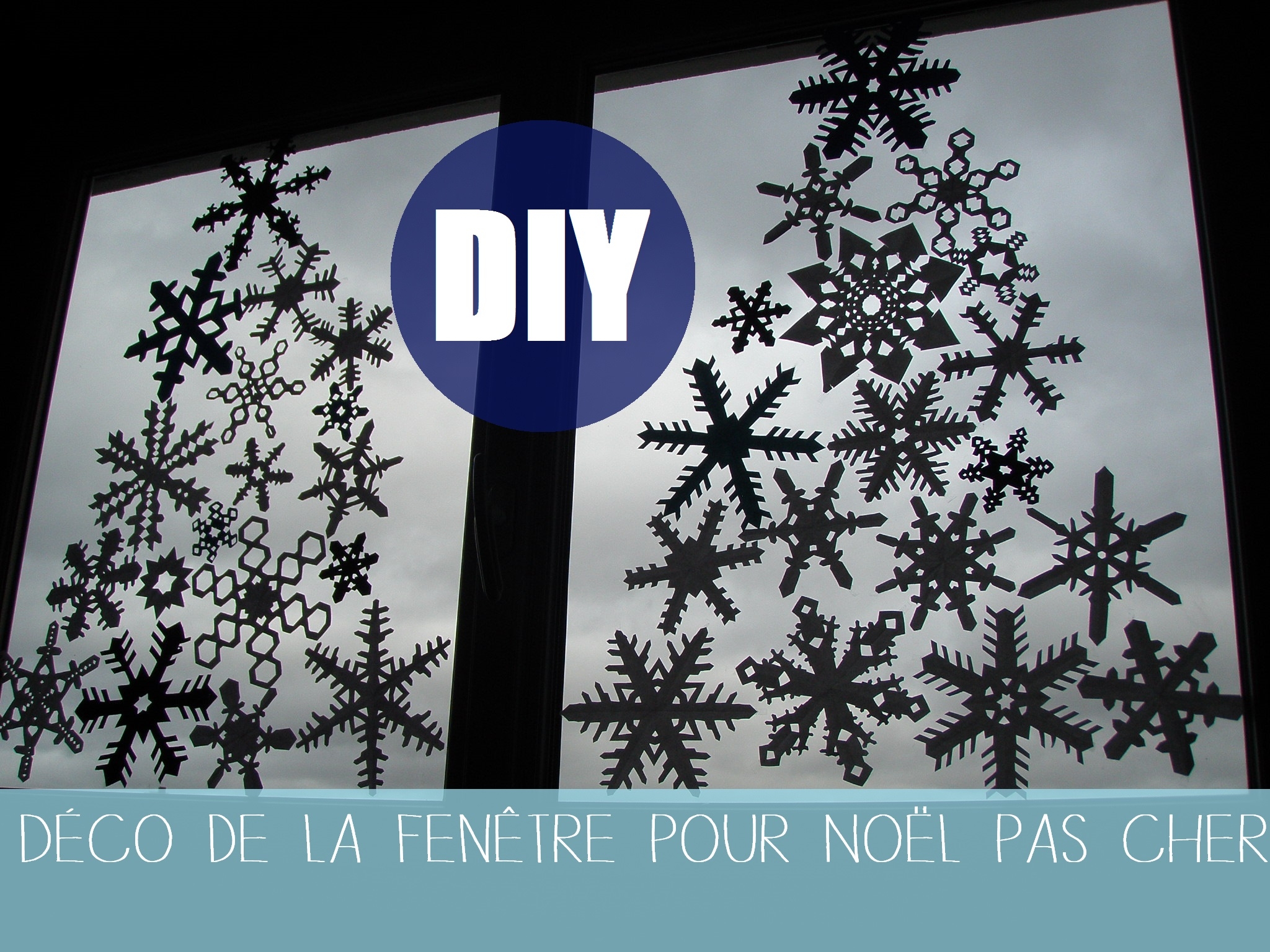 Diy avec les enfants la carte de no l cameplait for Decoration fenetre noel disney