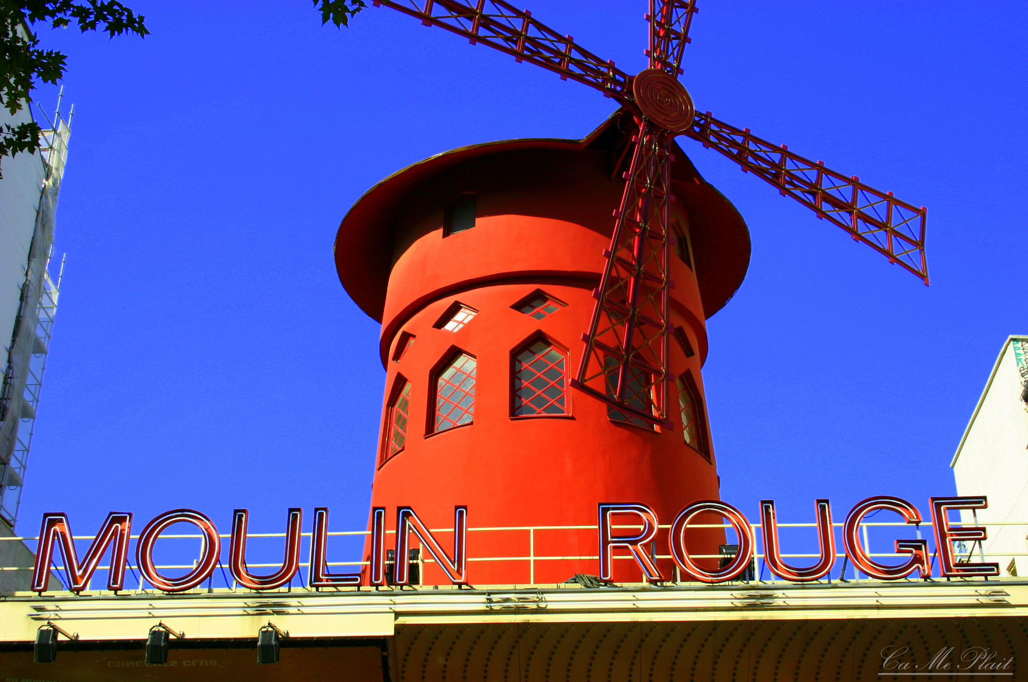 [PHOTO DU JOUR] # 95 Moulin Rouge